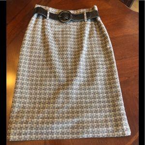 Antonio Melani High Waisted Pencil Skirt Size 4